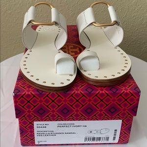 NWT TORY BURCH Women's Ravello Slide Sandals